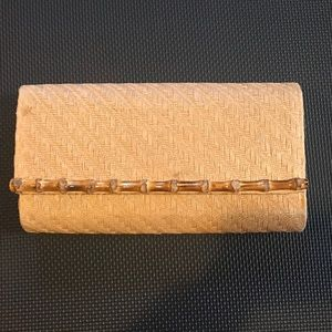 Other - Clutch Wooden Purse